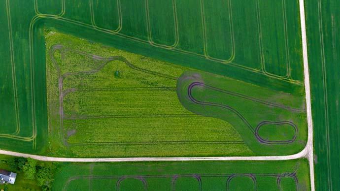 drooniga kaardistamine põllumajanduses celsus